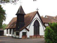 Iver Heath, Bridgettine Roman Catholic Church and Convent, Buckinghamshire © Copyright David Hawgood